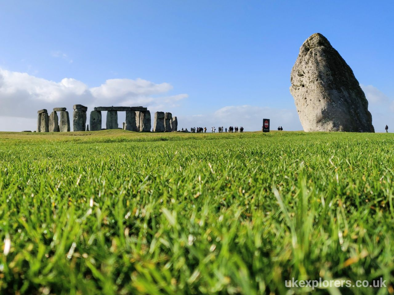 Au pairs trip to Stonehenge, Old Sarum, and Salisbury