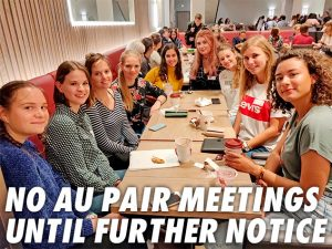 Au pairs meetings in London