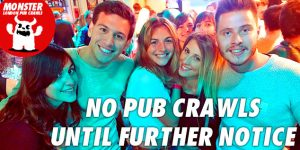 Social pub crawls for au pairs in London UK