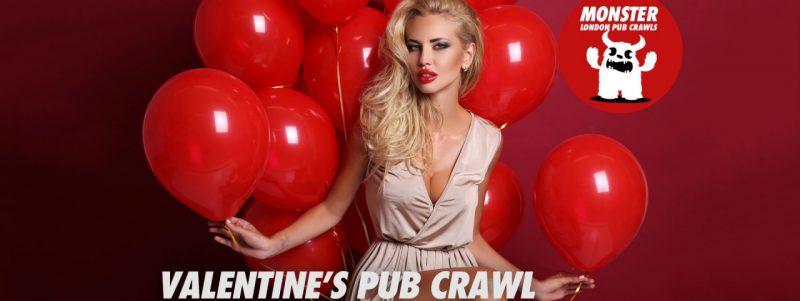 Valentine's pub crawl