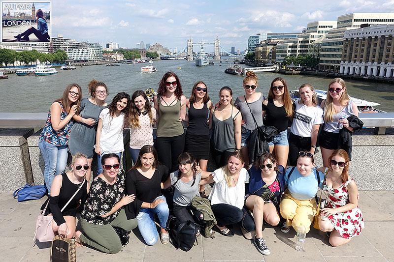 Au pairs in London meeting